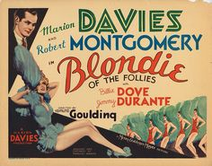 Lobby Card from the film Blondie Of The Follies