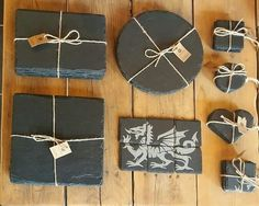 Fancy upgrading your table settings at home? We have a range of Welsh slate placemats and matching coasters for you to choose from- available in-store and online!  www.valleymill.co.uk/products/slate #welshslate #guests #placemats #tableware #kitchenware #welsh #wales #dinner #blaenauffestiniog #valleymill #placemats #slate #handmade #madeinwales #food #dining #coasters #tablesetting #dinnertable #home #shoplocalwales #cooking #roundplacemats #squareplacemats #welshdragon #dragon #heart…
