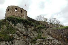 St  Catherine's Castle is a small device fort commissioned by Henry VIII. It is a two-storey building built to protect Fowey Harbour in Cornwall, England. It was built in the 1530s.