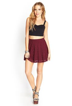This is the maroon skirt I need for the maroon, black and creme outfit. $10. Buy when you have money.