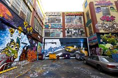 5Pointz graffiti mecca, Queens, NY by Dan Nguyen @ New York City, via Flickr