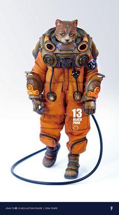 買動漫同步預購!【BLACK 13 PARK 】第五季 / 暗夜航天组1:6人偶 | 玩具人Toy People News