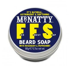 Mr. Natty Face Forest Soap — Beard Soap With Rosemary