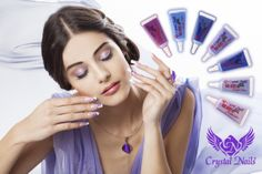 One Move paints from Crystal Nails to your lovely Acrylic Nails, Gel Nails, Nail Products, Crystal Nails, Professional Nails, Nail Technician, Nail Artist, Nail Care, Gel Polish
