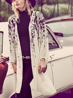 Free People FP ONE Falling Flowers Jacket at Free People Clothing Boutique