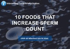 Getting pregnant is not always as easy as we think it should be. One common problem is a low sperm count, but the good news is that there are foods that are not only super tasty, but super good for sperm. The best part? Some of these foods are also aphrodisiacs... so if you've gotten…