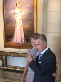 Queen Mathilde and King Philippe visited 'Wonder' exhibition