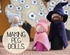 how to make peg dolls - Google Search