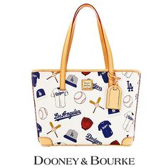 Los Angeles Dodgers Charleston Shopper by Dooney Let s Go Dodgers 52f5e03d99798