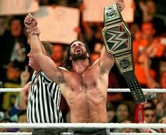 I love to see Ambrose As the Champ but I'm more to choose Seth Rollins to win the @wwe world heavyweight champion at Battleground and be 3 times champ.. . . . . . . . . . . . . #wwe #redesignrebuildreclaim #sethrollins #battleground #worldheavyweightchampionship #colbylopez #deanambrose #romanreigns #wrestling #theshield #arenagusti #wwemalaysia #wwesoutheastasian