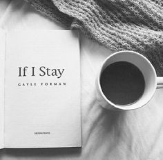 book, coffee, and if i stay image I Love Books, Good Books, Books To Read, Quotes Literature, Coffee And Books, Coffee Reading, Foto Instagram, Book Aesthetic, Aesthetic Pictures
