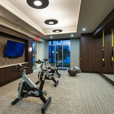 Stay fit in our expansive fitness center. #fitness #healthy