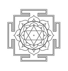 Yantra Mangal Vector Images - Page 5 Beautiful Mind, Hinduism, Sacred Geometry, Vector Art, Tarot, Temple, Mandala, Kids Rugs, Paintings