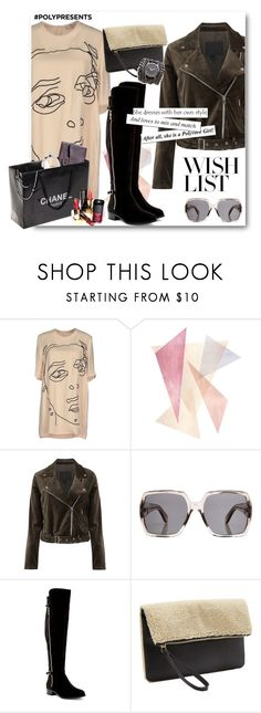 """""""#PolyPresents: Wish List"""" by anitadz ❤ liked on Polyvore featuring STELLA McCARTNEY, Chanel, Paige Denim, Yves Saint Laurent, Ivanka Trump, Old Navy, Sara Designs, contestentry and polyPresents"""