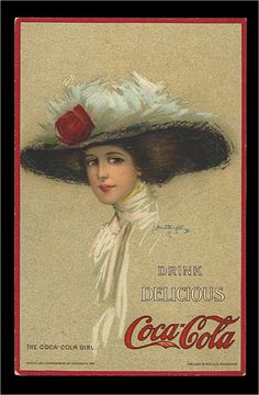 Coke ad from the early 1900's