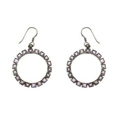 Boucles d'oreilles - Anneaux en Argent 925 et Améthystes de ShalinIndia, http://www.amazon.fr/gp/product/B00B0UUJSW/ref=cm_sw_r_pi_alp_lCJerb00E0EWR