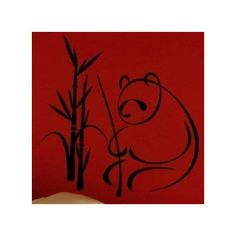 "Style and Apply Panda Wall Decal Size: 24"" H x 24"" W, Color: Silver"