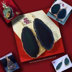 #Druzy #Jewelry www.secretgardengems.net