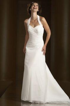 halter wedding dresses | Big Shark: Always on Fashion—Halter Wedding Dress