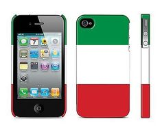 New Italy National Flag Image Hard Back Skin Case Cover for iPhone 4 4S in Cell Phones & Accessories | eBay