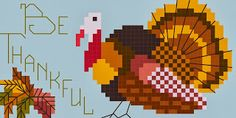 By The Bay Needleart: Thanksgiving Freebie