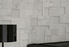 Wall-mounted tile / porcelain stoneware  / 3-D / indoor REGENERATION : WHITE APAVISA PORCELANICO