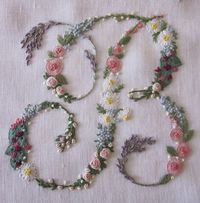 Elizabeth Hand Embroidery: Suffocated by flowers
