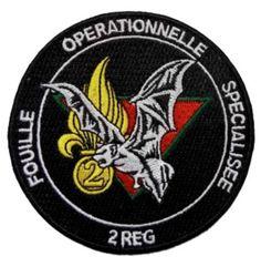Ecusson Fouille Opérationnelle Spécialisée