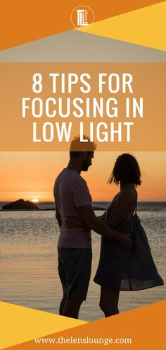 The best tips on focusing in low light! Some easy tricks to use for when it is too dark for your camera to focus and a few more complex camera techniques for other times when it is too dark to focus. Click through to find out how help your camera focus in the dark. #focustips #lowlightshoot #photographytips #photography