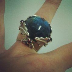 Love my ring, love the brand - made in Portugal www.pedralua.com