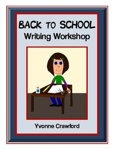 Back to School Writing Workshop is a fun way to introduce back to school vocabulary to your students while helping them increase their language skills. $2.50