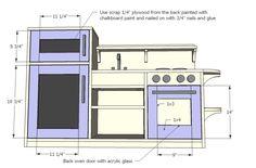 New Diy Furniture Plans Ana White Doors Ideas Diy Kids Kitchen, Wooden Play Kitchen, Diy Kitchen Projects, Toy Kitchen, Smart Kitchen, Kitchen Ideas, Diy Projects, Diy Furniture Plans, Dollhouse Furniture