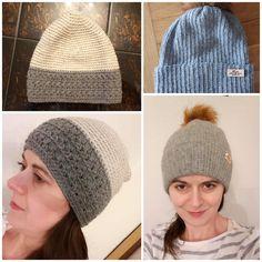 Fešácké čepky vyrobené z Drops Nepal a Drops Puna klubíček od paní Martiny Trumberové. Panama, Knitted Hats, Winter Hats, Knitting, Fashion, Moda, Panama Hat, Tricot, Fashion Styles