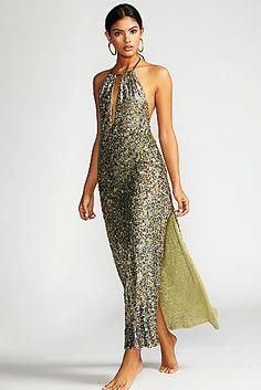 Sequin Margarita Maxi Dress