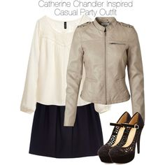 Style Catherine Chandler - Beauty & the Beast