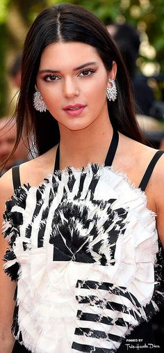 #Kendall #Jenner in Chanel ♔ Cannes ♔ Très Haute Diva ♔