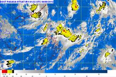 PAGASA spotted new LPA - August 4, 2012