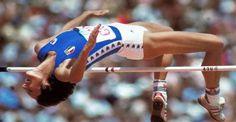 Sara Simeoni | Sara Simeoni. OS guld höjdhopp 1980 Moskva.