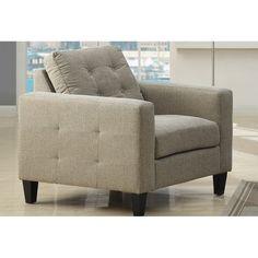 hayneedle.com: Emerald Home Furnishings U3830B-02-09 Upton Matching Chair - Beige $284.99