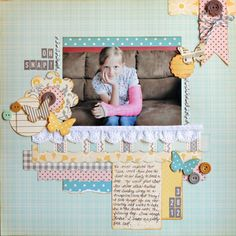 ScrapBook Page - layers