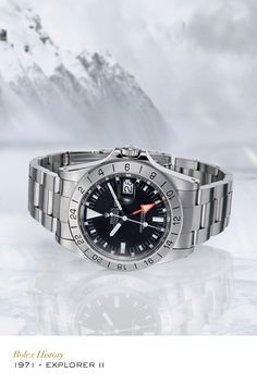 The Rolex Explorer II, first released in 1971, is the natural heir to the original Rolex Explorer – yet with a character all of its own. A robust, highly refined tool, the Explorer II swiftly became the watch of choice of speleologists, volcanologists and polar and jungle explorers, thanks to its specially designed features. #Exploration #RolexOfficial