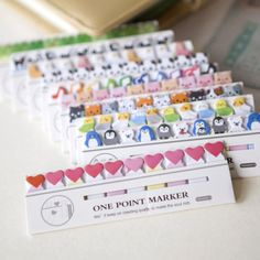 Cute-150-Pages-Penguin-Bear-Mini-Post-It-Sticker-Bookmark-Sticky-Notes-Tab-Pad