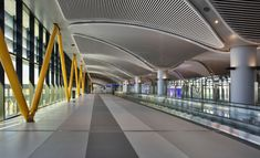 Istanbul New Airport, Turkey History, Central Hall, Building Information Modeling, Turkish Airlines, Black Sea, Architect Design, Augmented Reality, Worlds Largest
