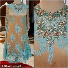 Casual Fall Look - Fall Must Haves Collection. Kebaya Lace, Kebaya Dress, Batik Kebaya, Dress Pesta, Blouse Batik, Batik Dress, Kimono, Dress Brukat, Lace Dress