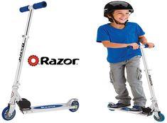 Open Box Red Razor A2 Aluminum Kick Scooter Boys//Girls