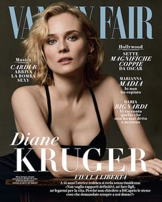 Magazine photos featuring Diane Kruger on the cover. Diane Kruger magazine cover photos, back issues and newstand editions. Fashion Magazine Cover, Fashion Cover, Magazine Covers, Vanity Fair Italia, List Of Magazines, Vanity Fair Magazine, Italy Magazine, German Women, Thing 1