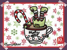10's Embroidery Webshop Xmas, Christmas, Weihnachten, Jul, Natal, Natale, Noel