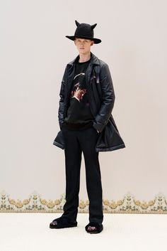 **HAT See the complete Undercover Fall 2016 Menswear collection.