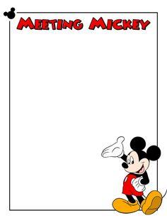 Journal Card - Meeting Mickey - 3x4 photo dis_387a_Mickey_Meeting_Mickey.jpg