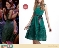 Marley will be wearing this dress in an upcoming episode of Glee, it is still available for $198 http://wornontv.net/9235